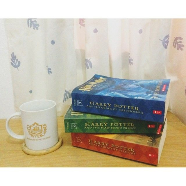 #TristineReads #books #bookworm #bibliophile #bookporn #JKrowling #harrypotter #potterhead