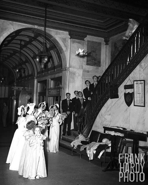 Throwing The Bouquet At The San Carlos Hotel San Carlos Hotel Pensacola Florida Old Florida