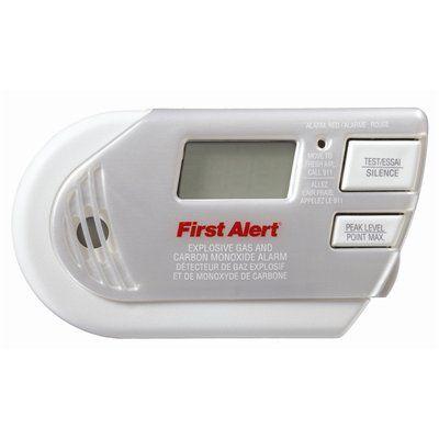 First Alert Carbon Monoxide Detector Carbon Monoxide Alarms Alarm Gas
