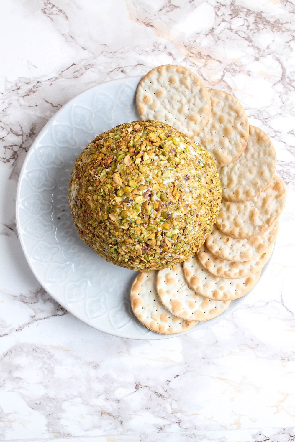 Stilton Pear Cheese Ball With Pistachios Pink Peppercorns Cream Honey Cheese Ball Stilton Cheese Recipes Breakfast Brunch Recipes