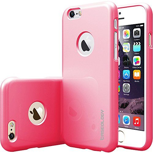 iPhone 6 case Caseology [Daybreak Series] [Hot Pink] Slim Fit Shock Absorbent Cover [Drop Protection] for Apple iPhone 6S (2015) & iPhone 6 (2014)