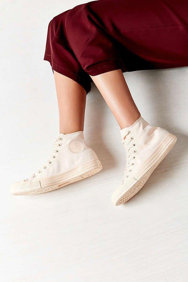 Star Monochrome High Top Sneaker