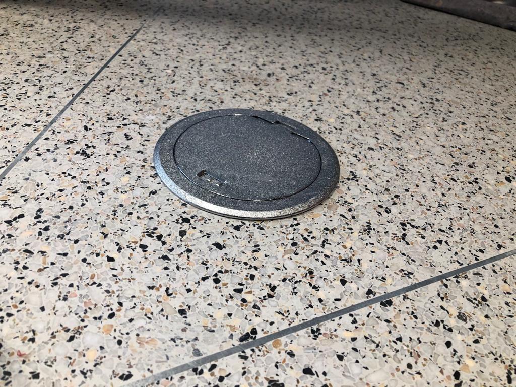 Terrazo caja suelo