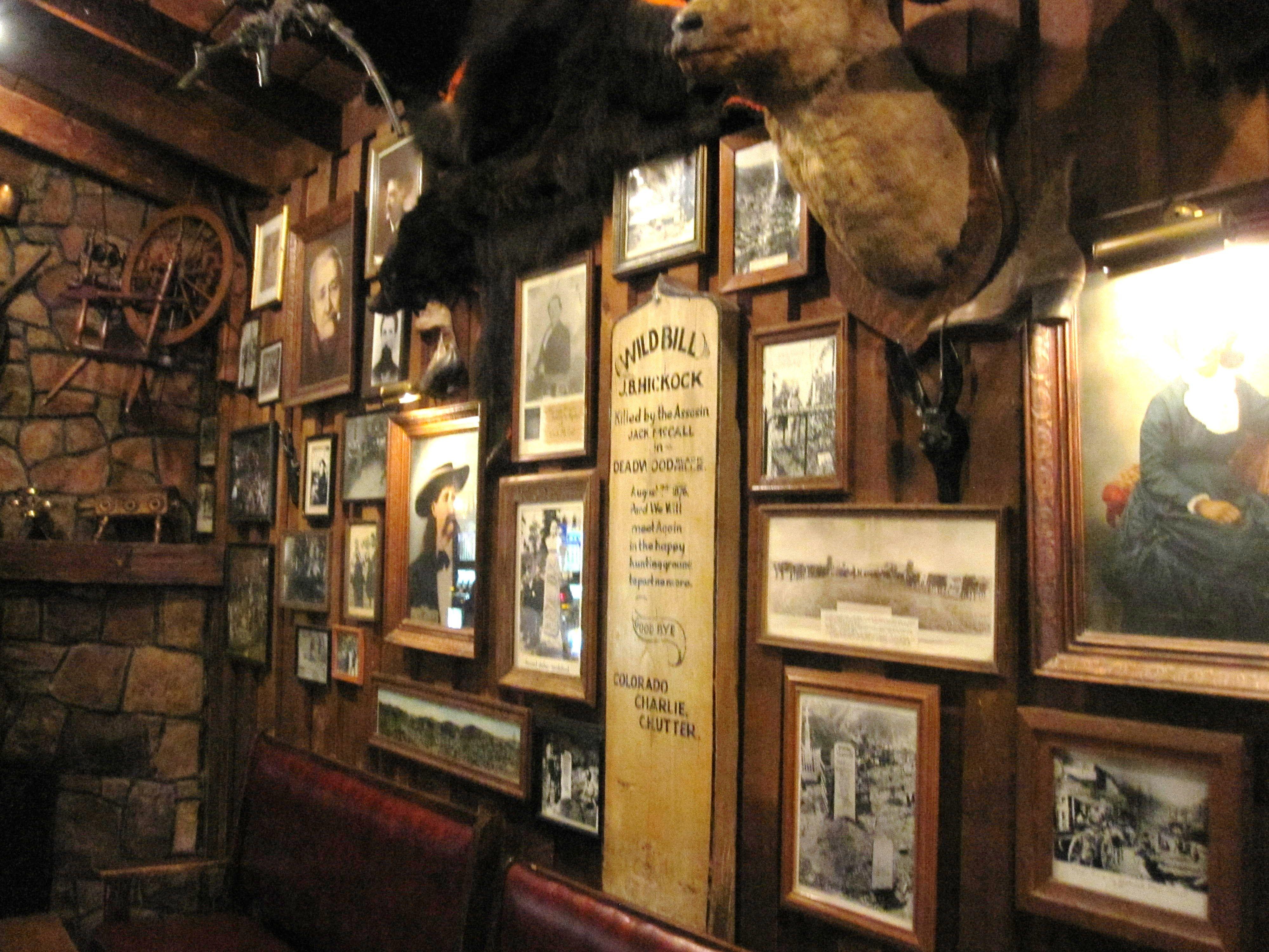 old west saloon interior walls of saloon 10 in deadwood