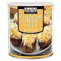 Daily Chef Cheddar Cheese 6 62 Lb Can Food Cheddar Cheese Cheddar