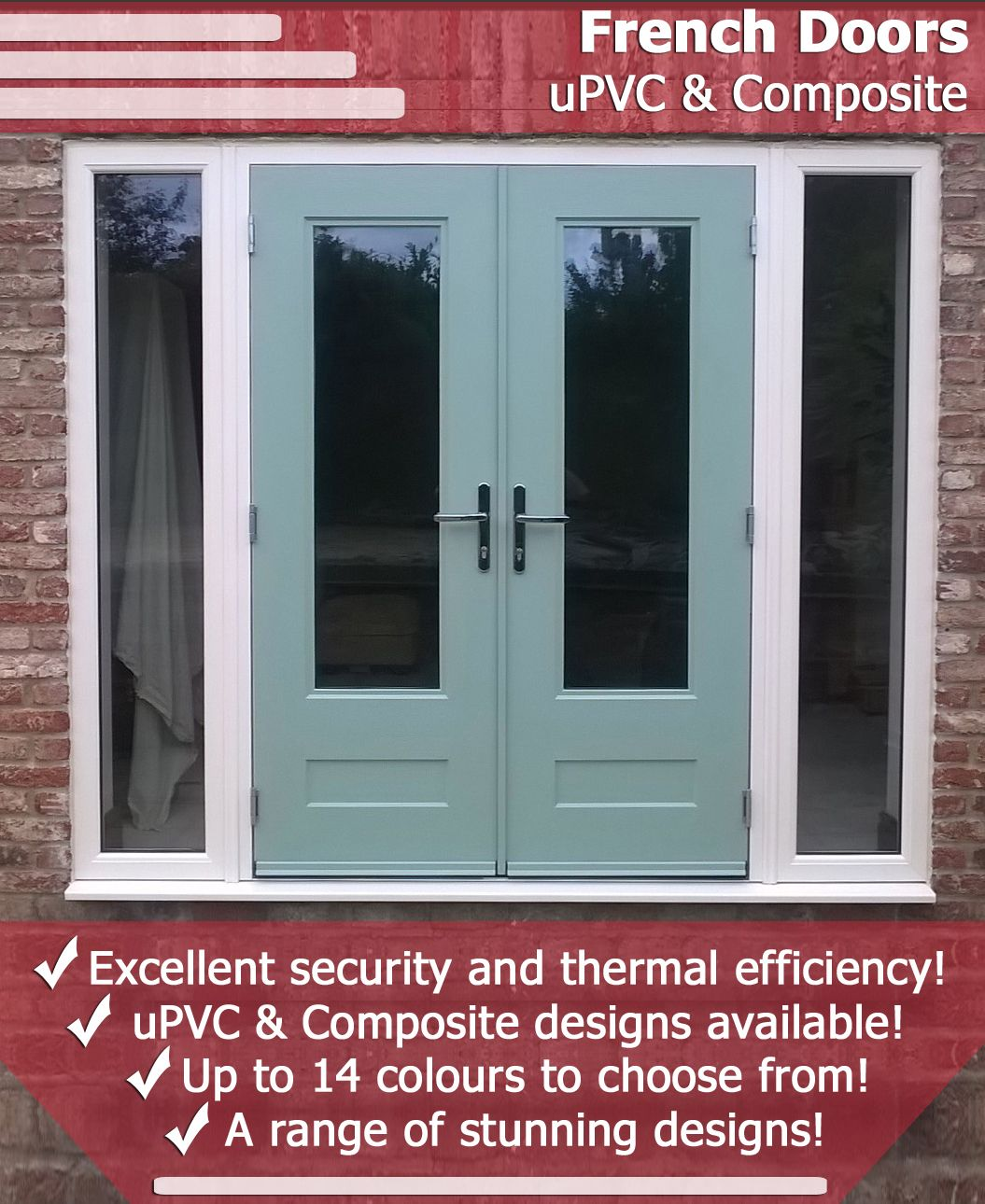 With Hundreds Of Different Styles And Colours To Choose From You Need To View Our French Doors Today French Doors Patio French Doors Upvc French Doors