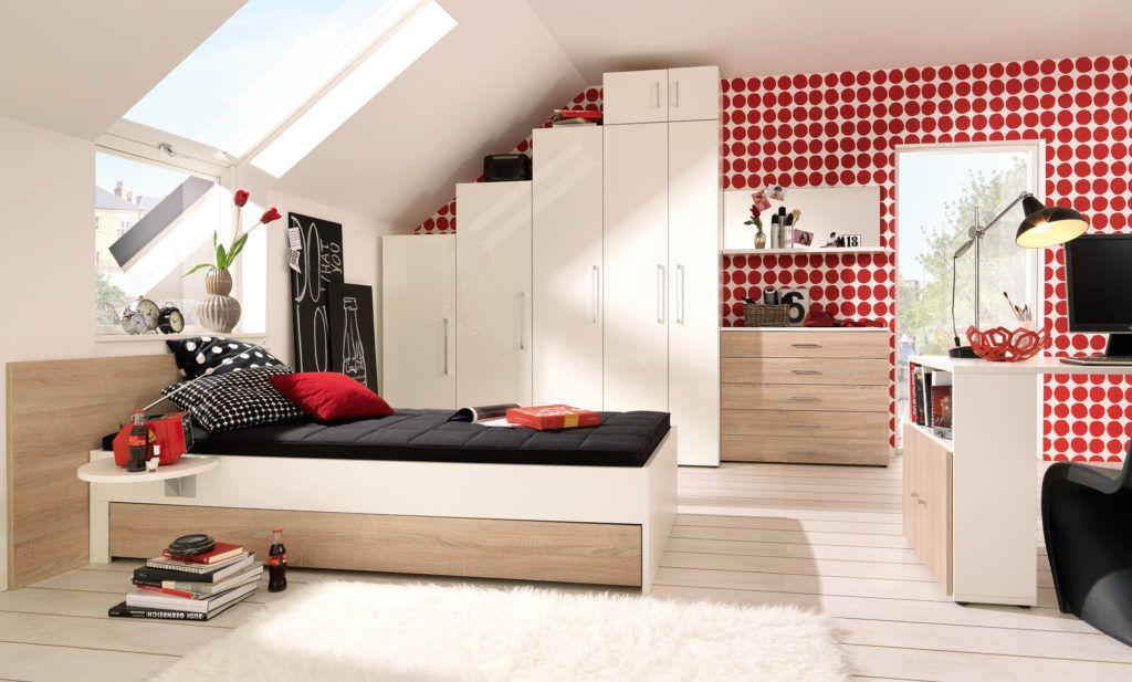 Fototapete schlafzimmer dachschrage - Schrage wande tapezieren ...