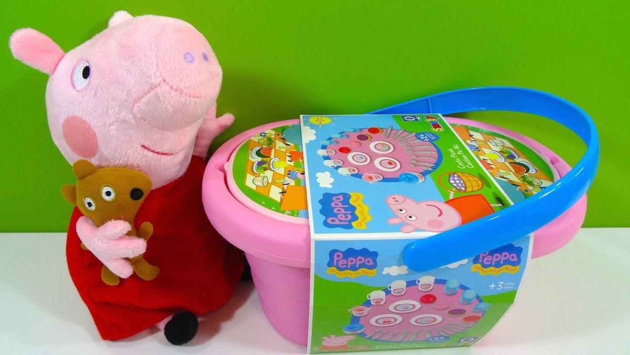 Peppa Pig Cesta de Picnic Peppa Pig Picnic Basket