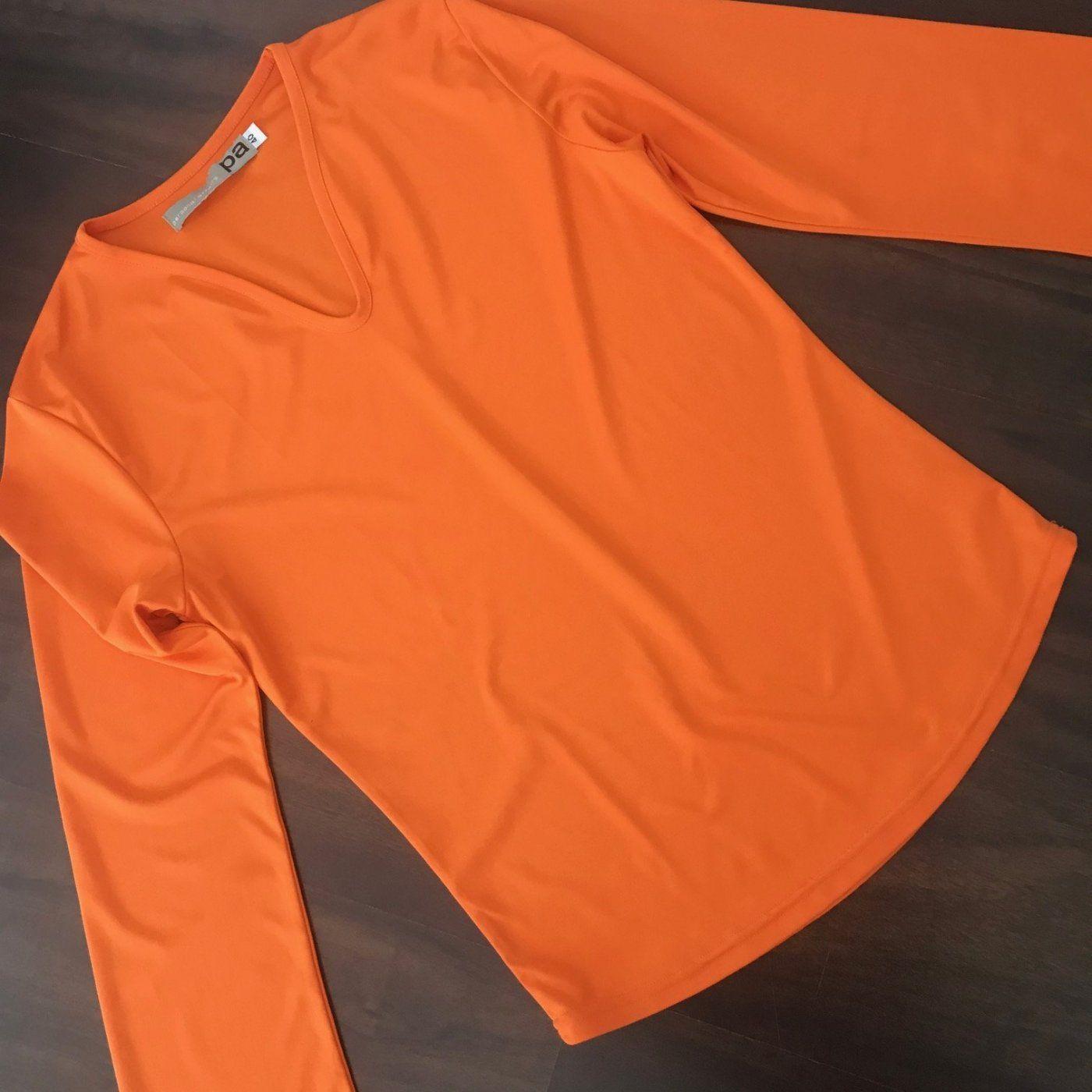 Shirt in knallig Orange:-)   Mädchenflohmarkt