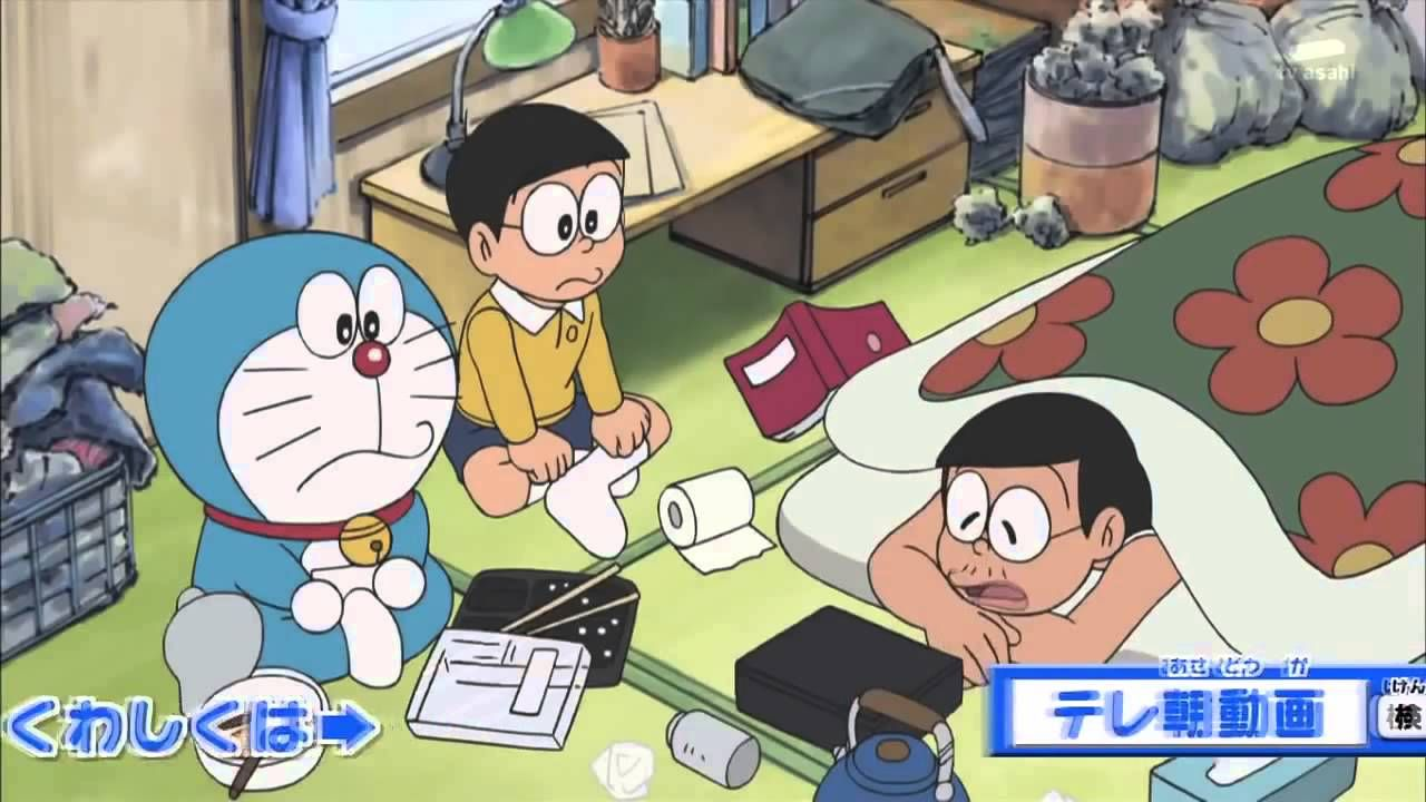 Hoat hinh Doraemon Ep 292 Mọi người rời xa tuần lễ vàng