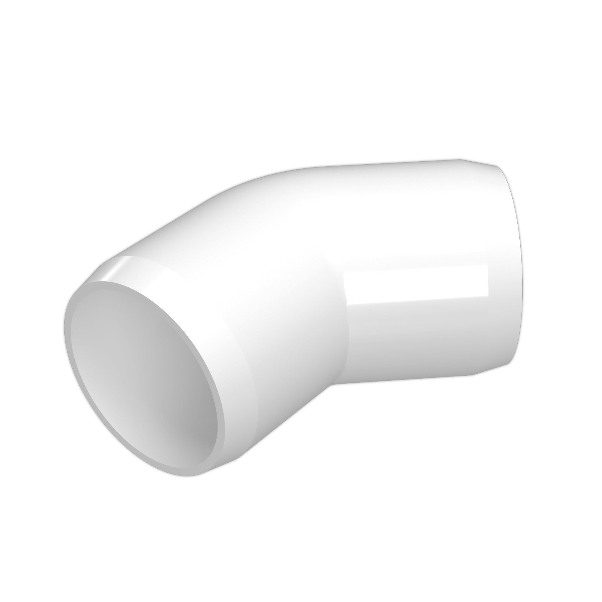 1 2 45 Degree Pvc Fitting Furniture Grade In 2020 Pvc Fittings Furniture Grade Pvc Pvc