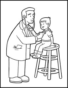 Free Printable Community Helper Coloring Pages For Kids Free Coloring Pages Of Doctor Nurse Community And Pic Coloring Pages Coloring Books Free Coloring Pages