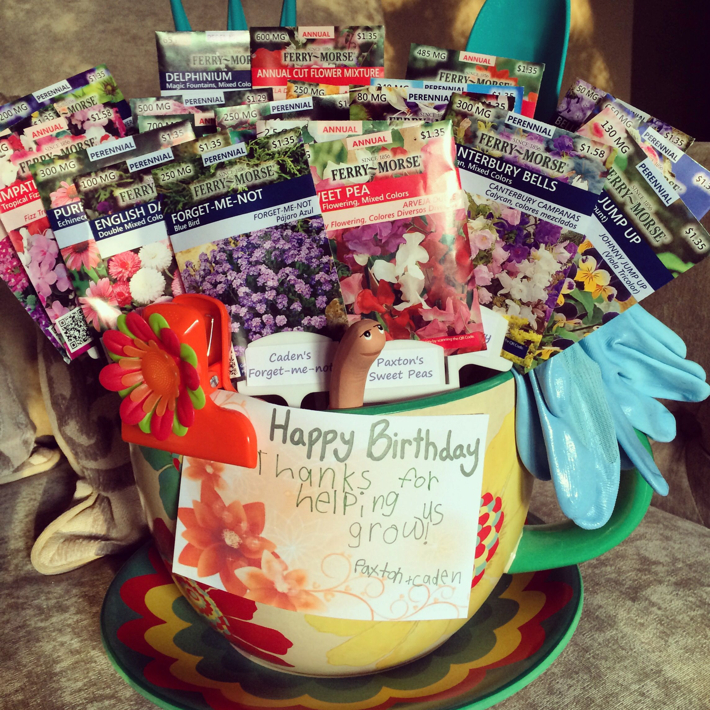 Diy Birthday Gifts For Teachers 7 Last Minute Handmade And Cards Day