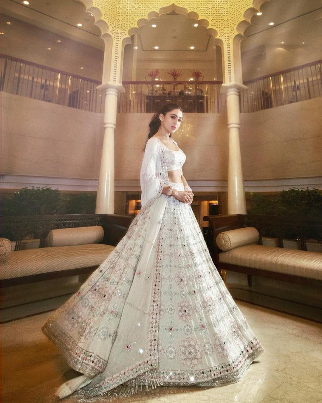 Stunning Sara Ali Khan | Indian wedding dress, Indian outfits, Designer dresses indian