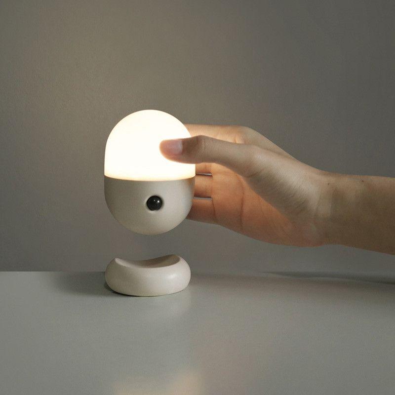 Osc Capsule Motion Sensor Led Night Light Grey Mist In 2020 Sensor Night Lights Led Night Light Light Sensor