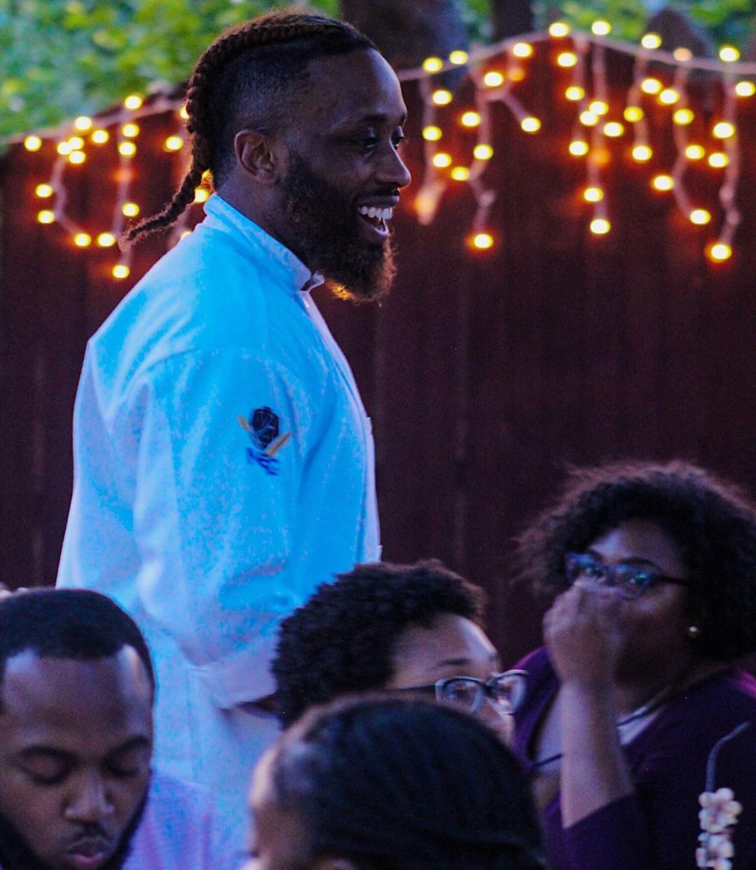 """""""Ladies & Gentleman, As you can see here we have rare species in his Natural Habitat"""" - Crocodile Hunter  @noirsoulgallery : Dinner Party 📸