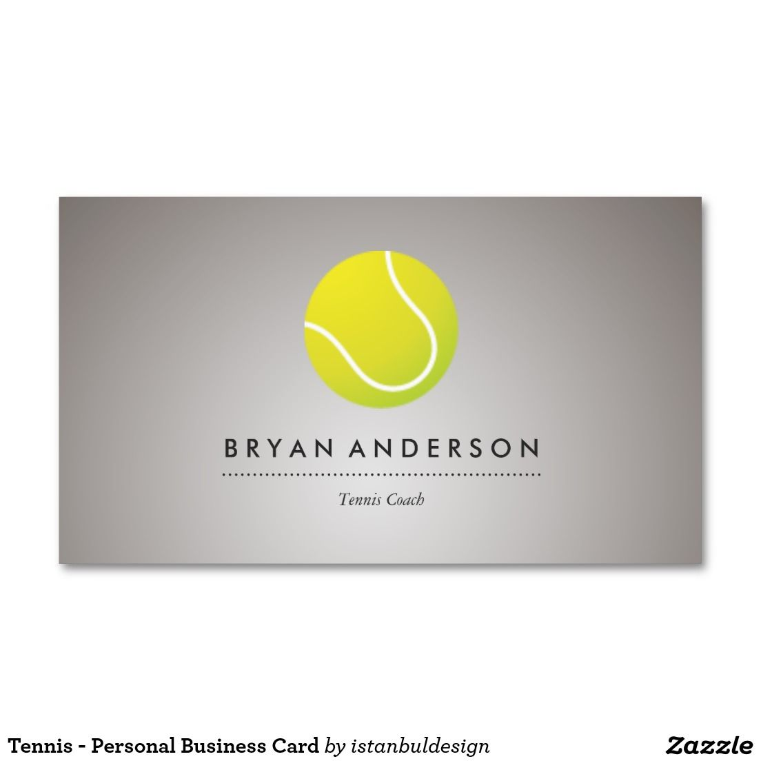 Tennis - Personal Business Card | Business cards and Business
