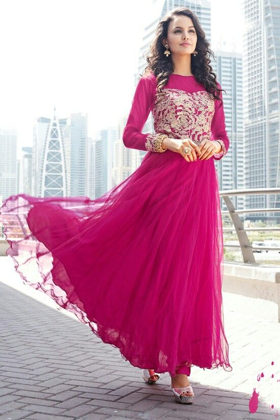 a3758efa542 Exclusive Long Gown Suit. Available   DIVA BANGLADESH.