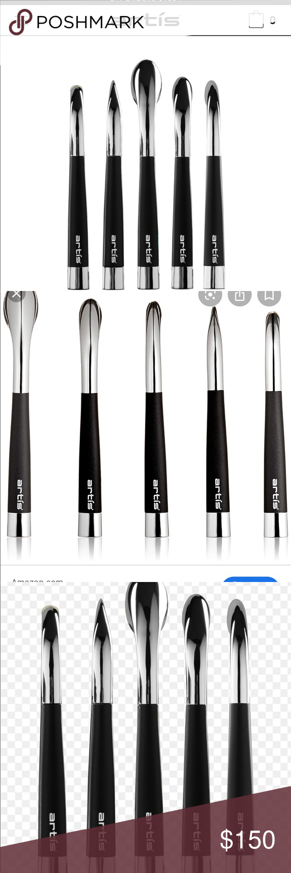 Brand New! Artis Fluenta Collection 5 set brushes