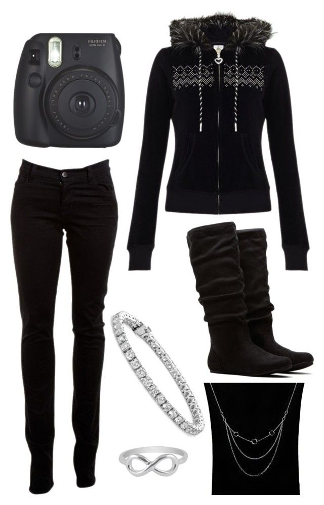 """""""Black phase"""" by mike-and-annie-williams-williams ❤ liked on Polyvore featuring Lipsy, J Brand, Dolce Giavonna, Blue Nile, Jewel Exclusive, women's clothing, women's fashion, women, female and woman"""