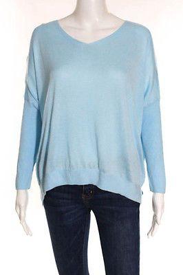 Topshop Aqua Blue Long Sleeve V-Neck Sweater Size 8 https://t.co/1jkIwxzFvz https://t.co/BpIhZm30CA