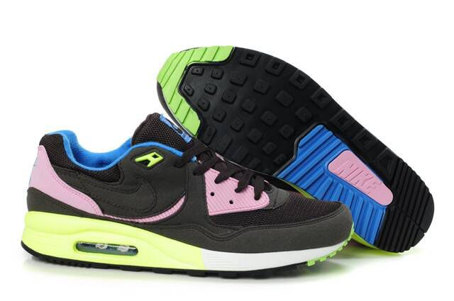 Nike Air Max Light Black Pink Volt Military Blue 315728