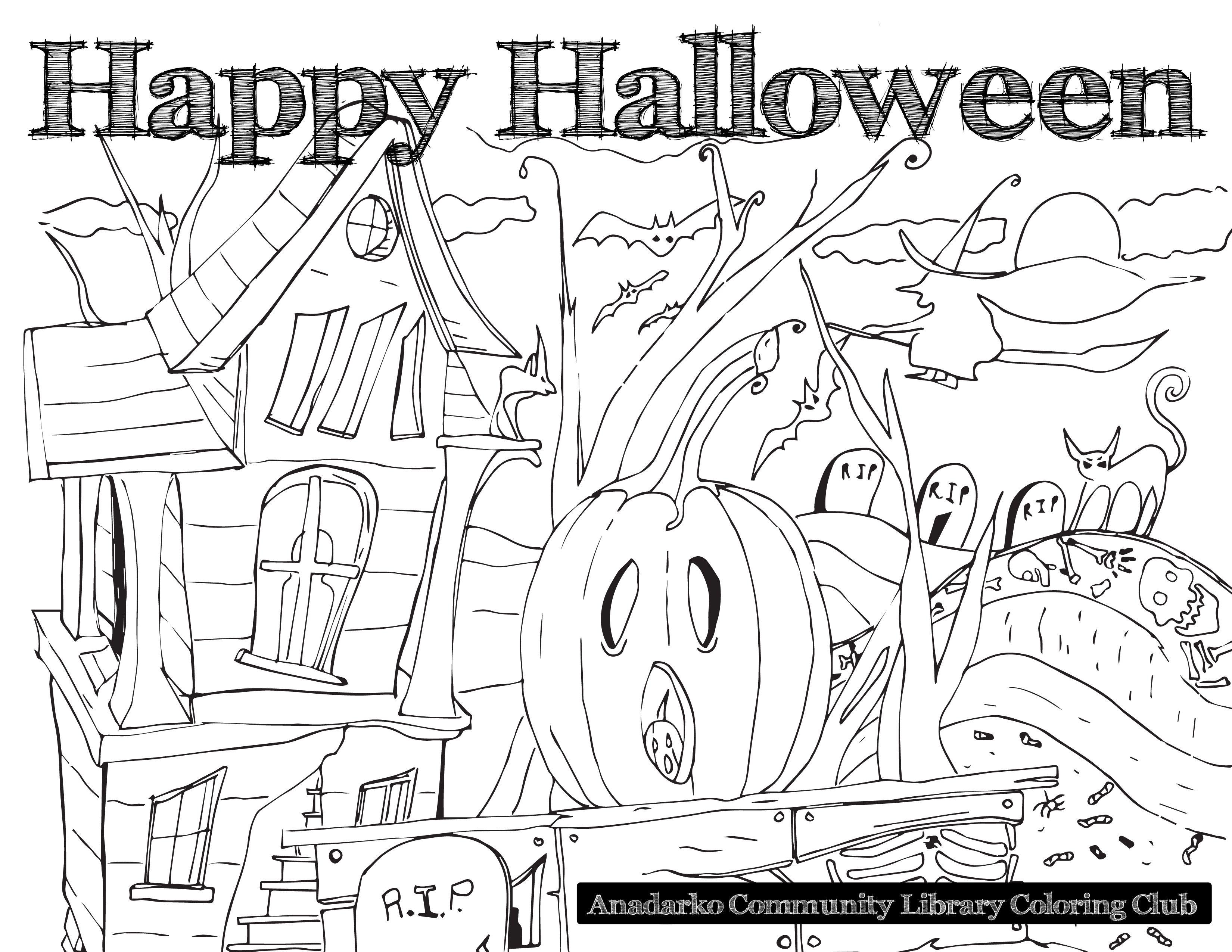 Halloweencoloringpage Halloween Coloring Book Halloween Coloring Sheets Halloween Coloring