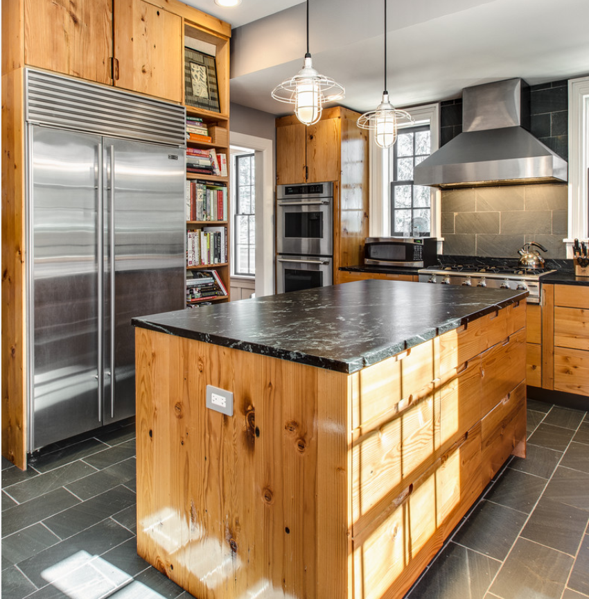 Rustic but also modern, would you use these materials in ...