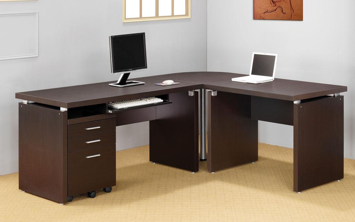 Computer Desk L Shaped With Keyboard Tray Best Home Office Desk Home Office Desks Home Office Decor
