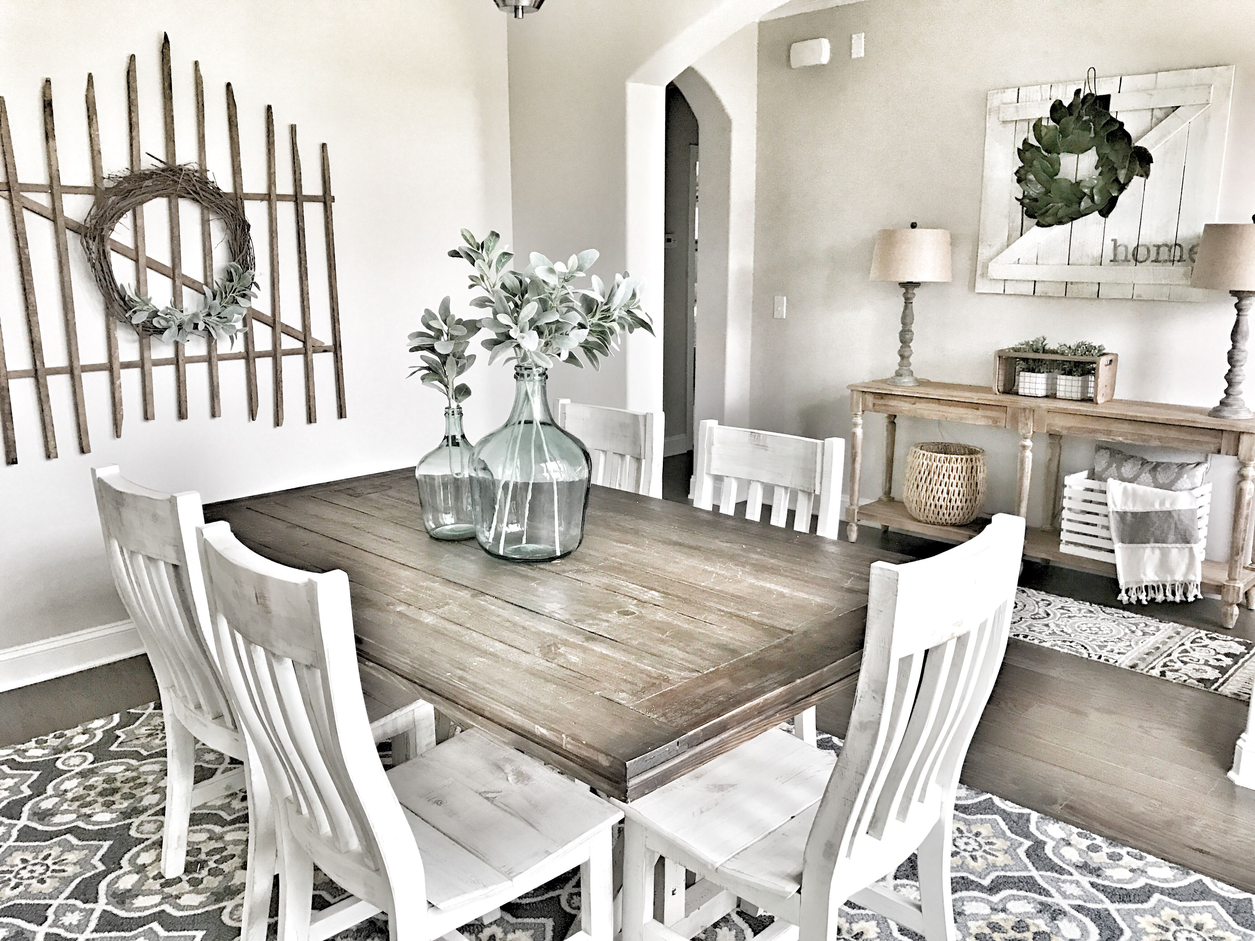 Farmhouse Decor Fixer Upper Style Modern Farmhouse Dining Room French Country Dining Room Country Dining Rooms