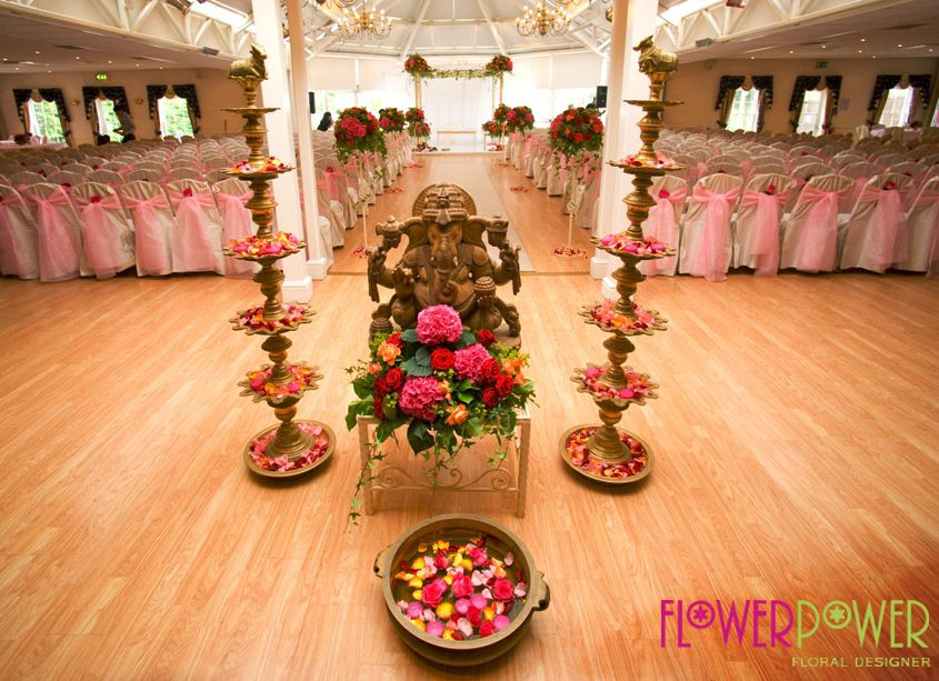 The Perfect Setting For An Asian Wedding Ceremony From Flower Power