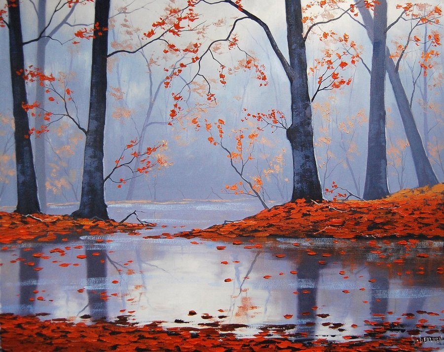 Stunning Landscape Paintings by Graham Gercken
