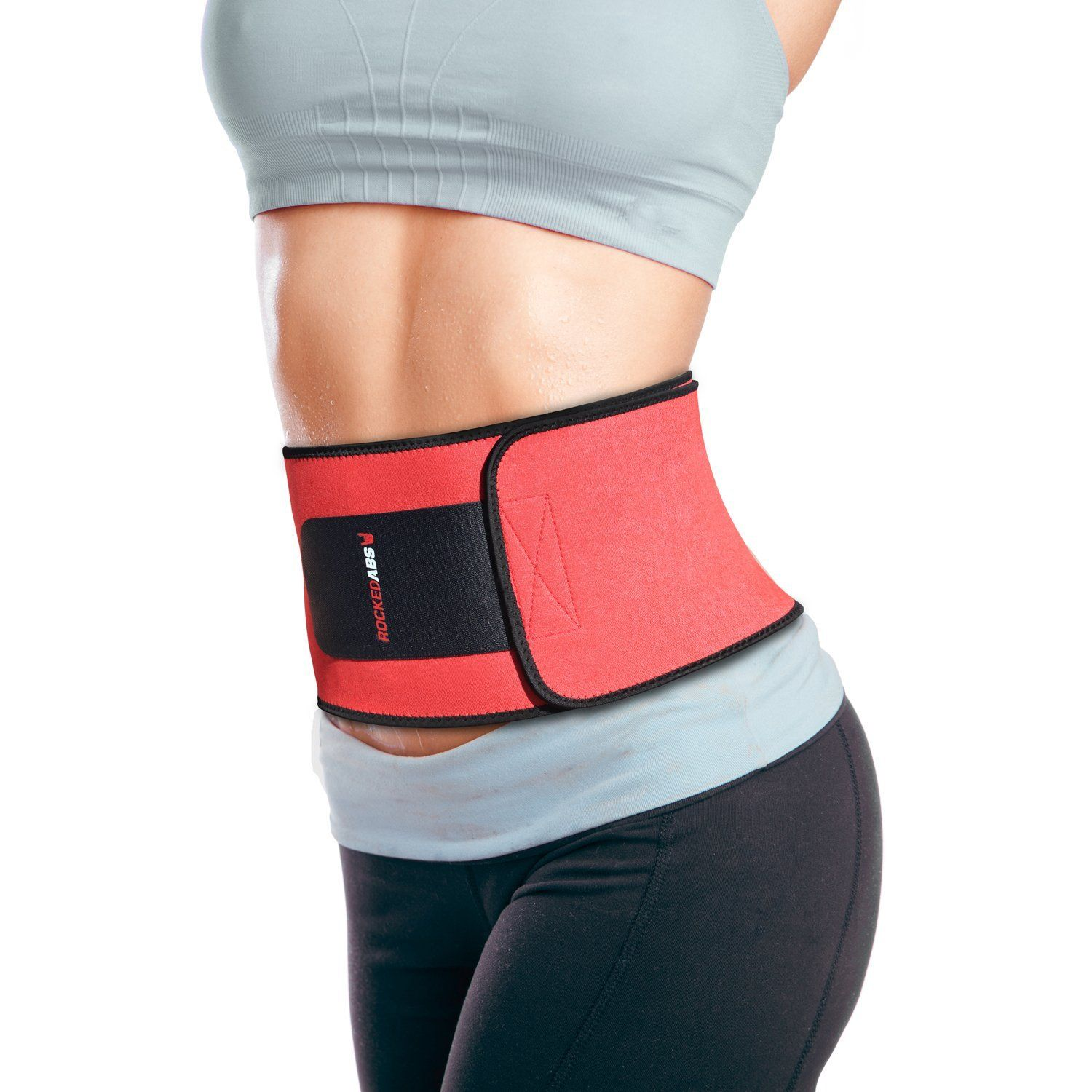 bad4a08b31 Rocked Abs waist trimmer belt for men and women  rockedabs http   www