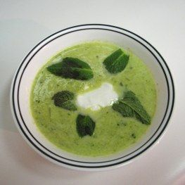 sweet pea soup (easily converted)