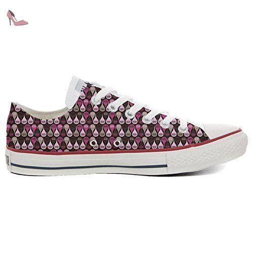 Converse Custom Slim personalisierte Schuhe (Handwerk Produkt) Jungle  46 EU