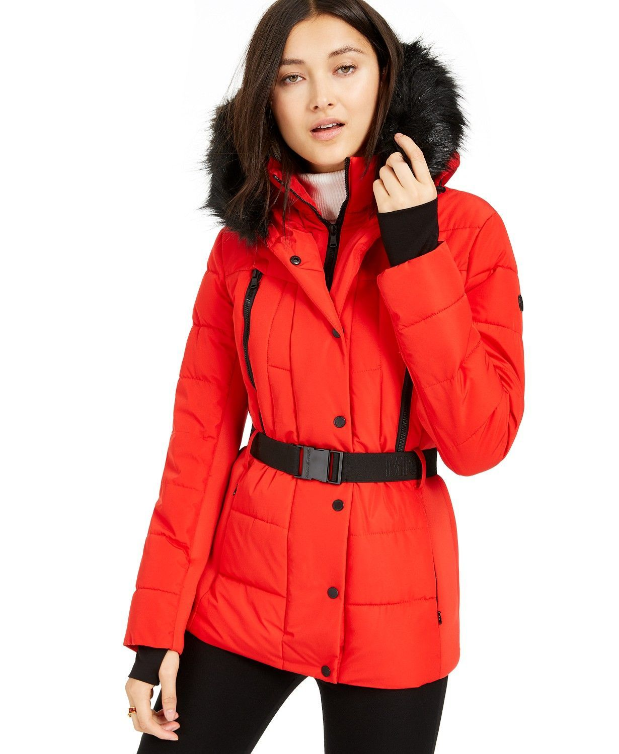 Michael Kors 80 Off Out Of All The Outerwear Deals At Macys This Black Friday We Think That This Jacket Fro Puffer Coat Coats For Women Coats Jackets Women [ 1500 x 1230 Pixel ]