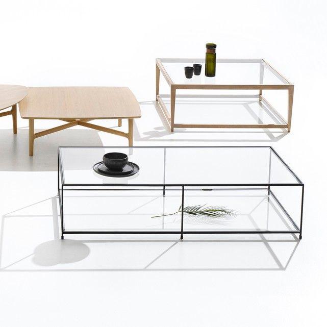 Table Basse Plateaux En Verre Junon Table Basse Table Basse