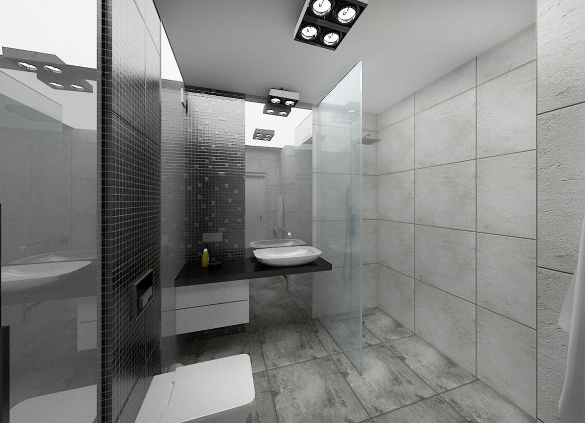Znalezione Obrazy Dla Zapytania Biało Szara łazienka