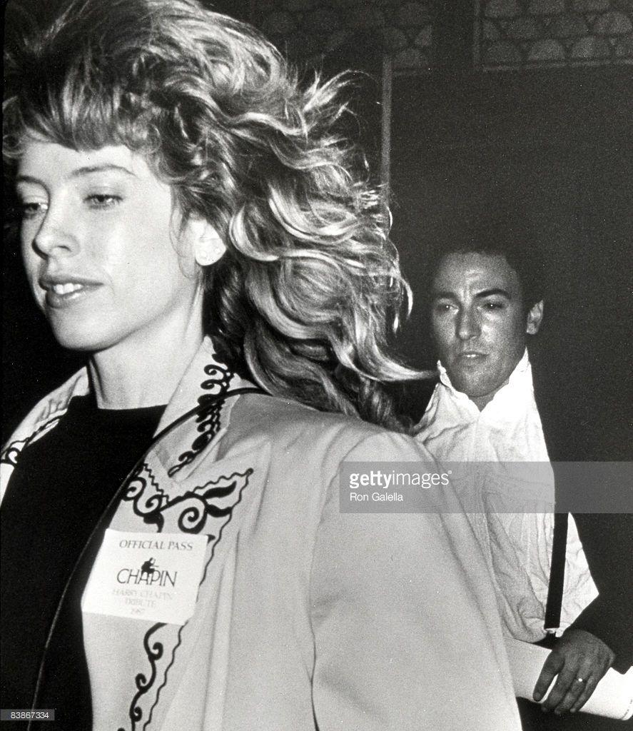 Bruce Springsteen And Julianne Phillips Bruce