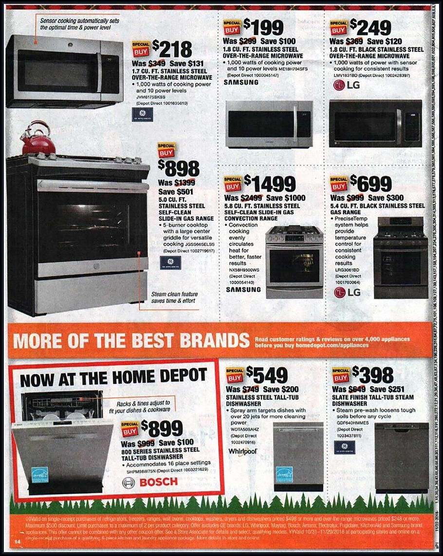 Home Depot Black Friday 2018 Ads And