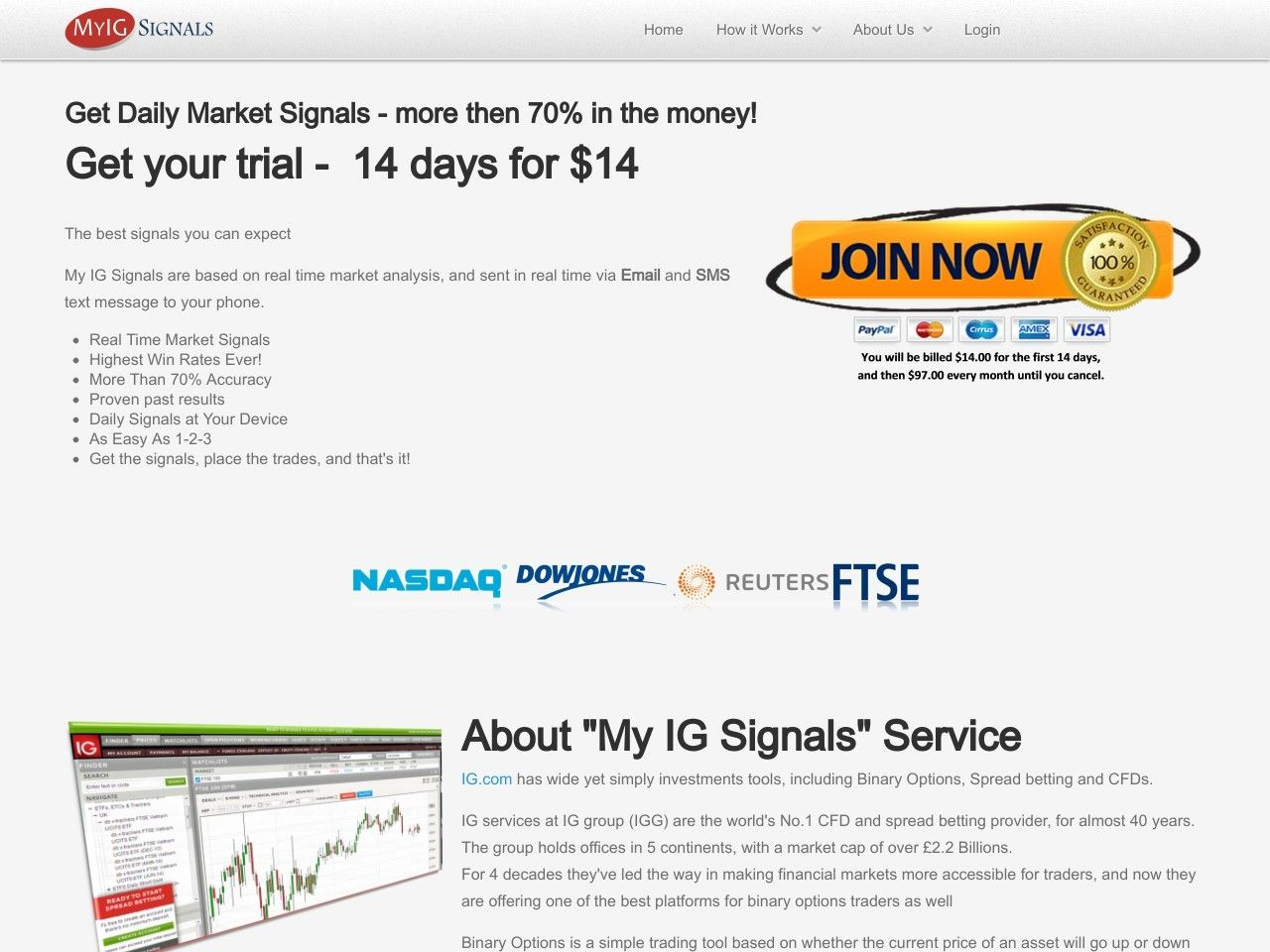 Day Traders Spread Betting And Cfd Signals Review Get Full Review