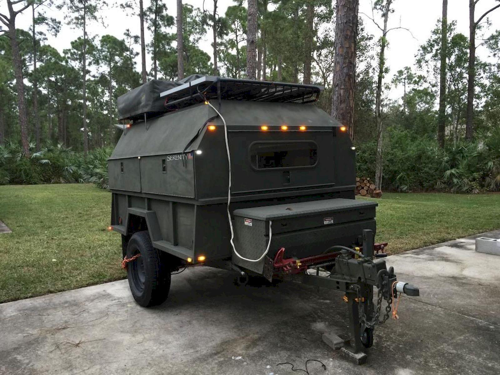 Cool 40 stunning diy camper trailer designhttps