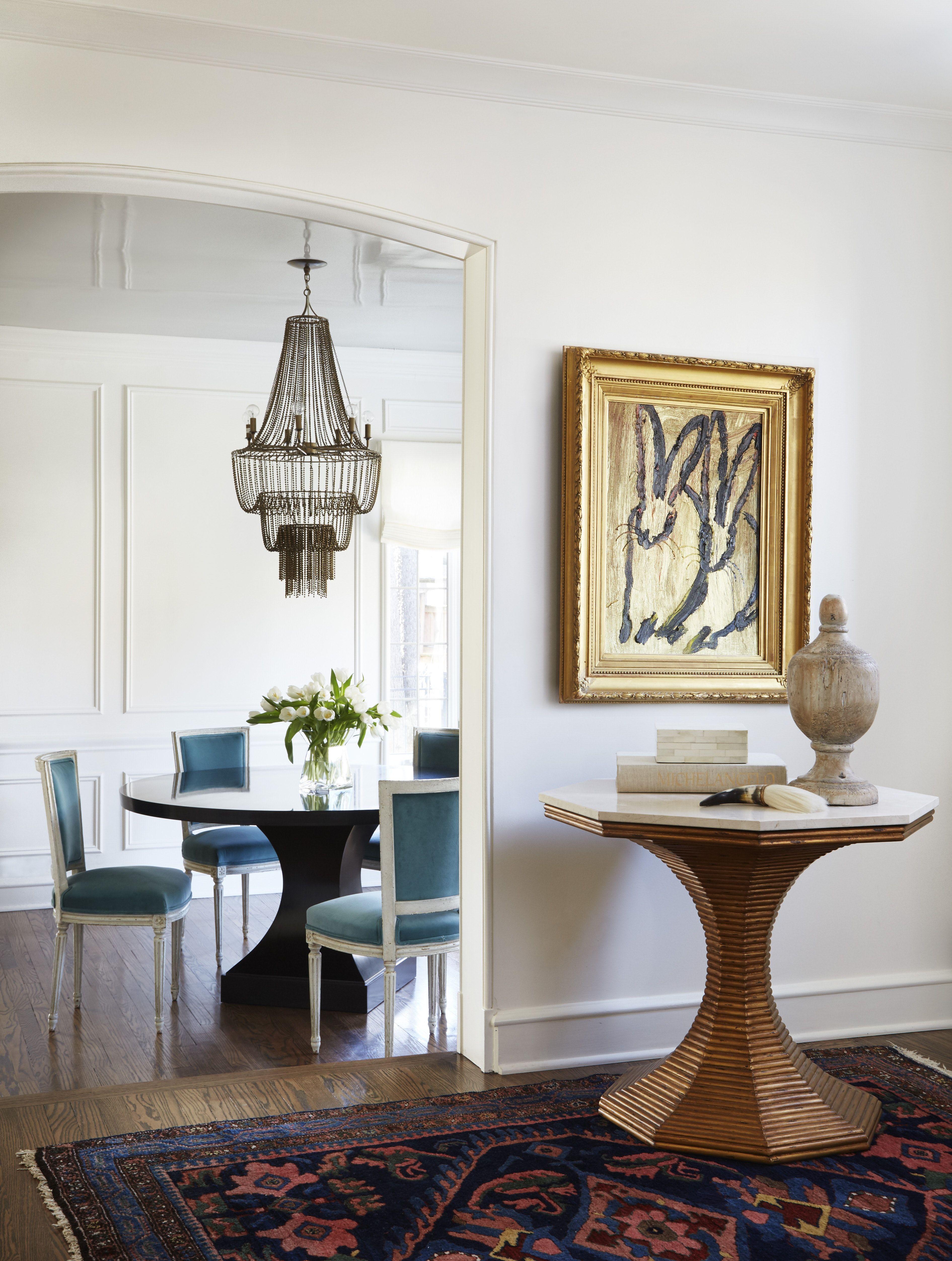 Powder Room By Amy Kartheiser Design: Sala De Jantar Decorada, Ideias