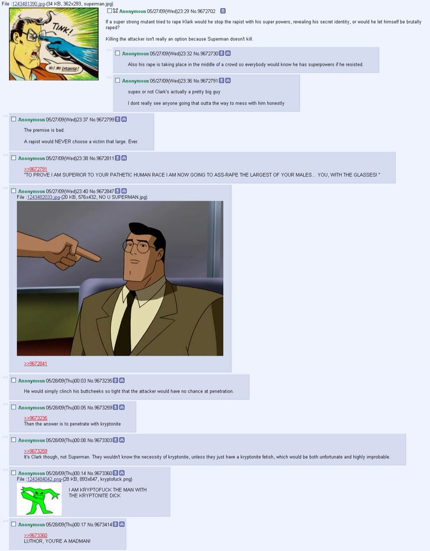 4chan poor superman