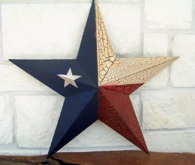 Texas Lone Star in the Texas Flag