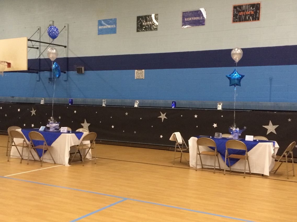 Gym decorations for mendenhall middle school 39 s 8th grade for 8th grade graduation decoration ideas