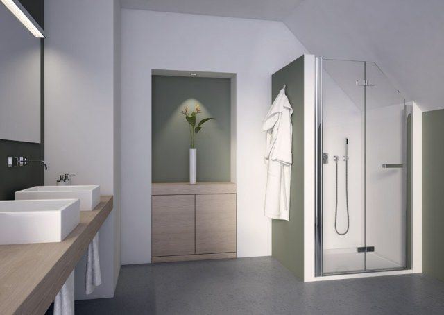 Znalezione Obrazy Dla Zapytania Prysznic Na Poddaszu Pod Skosem