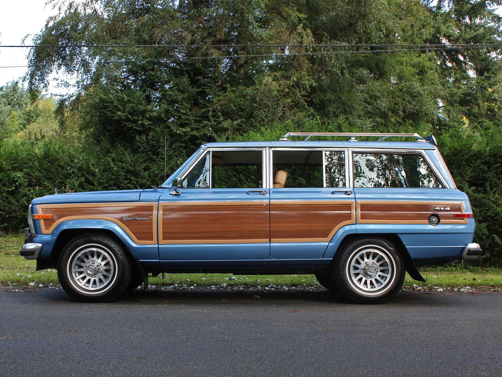 1988 jeep grand wagoneer spinnaker blue jeep wagoneer jeep grand old jeep 1988 jeep grand wagoneer spinnaker