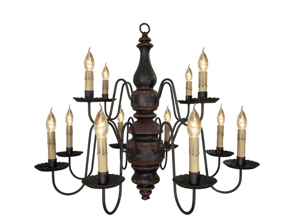 2 TIER 12 CANDLE  CHARLESTON  WOOD CHANDELIER   Handmade Colonial Light in  20 Finishes2 TIER 12 CANDLE  CHARLESTON  WOOD CHANDELIER   Handmade Colonial  . Primitive Colonial Light Fixtures. Home Design Ideas