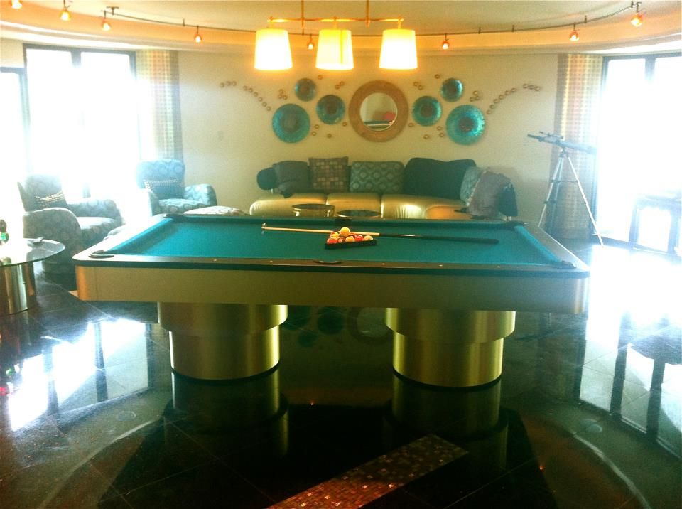 Bon Custom Golden West Pool Table Made For Robertsonu0027s Billiards In Tampa  Florida. This Golden West